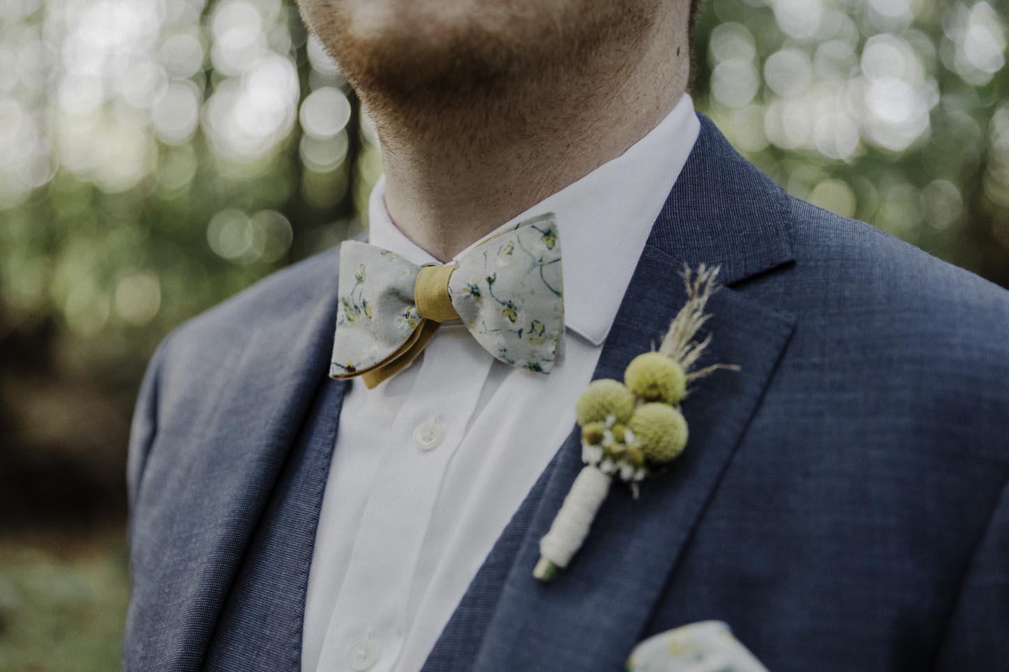 Fliege zur Hochzeit