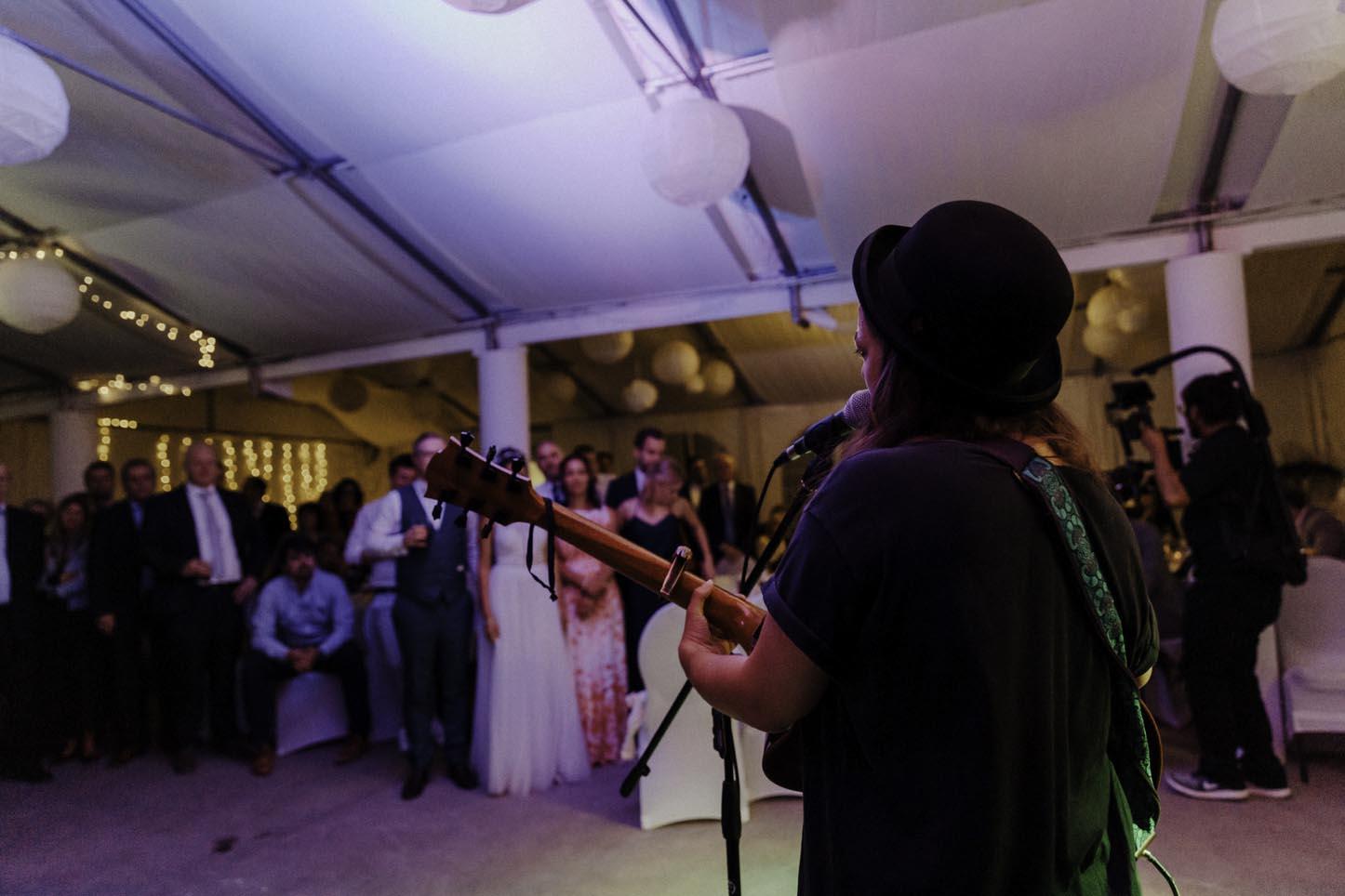 Hochzeit mit Livemusik