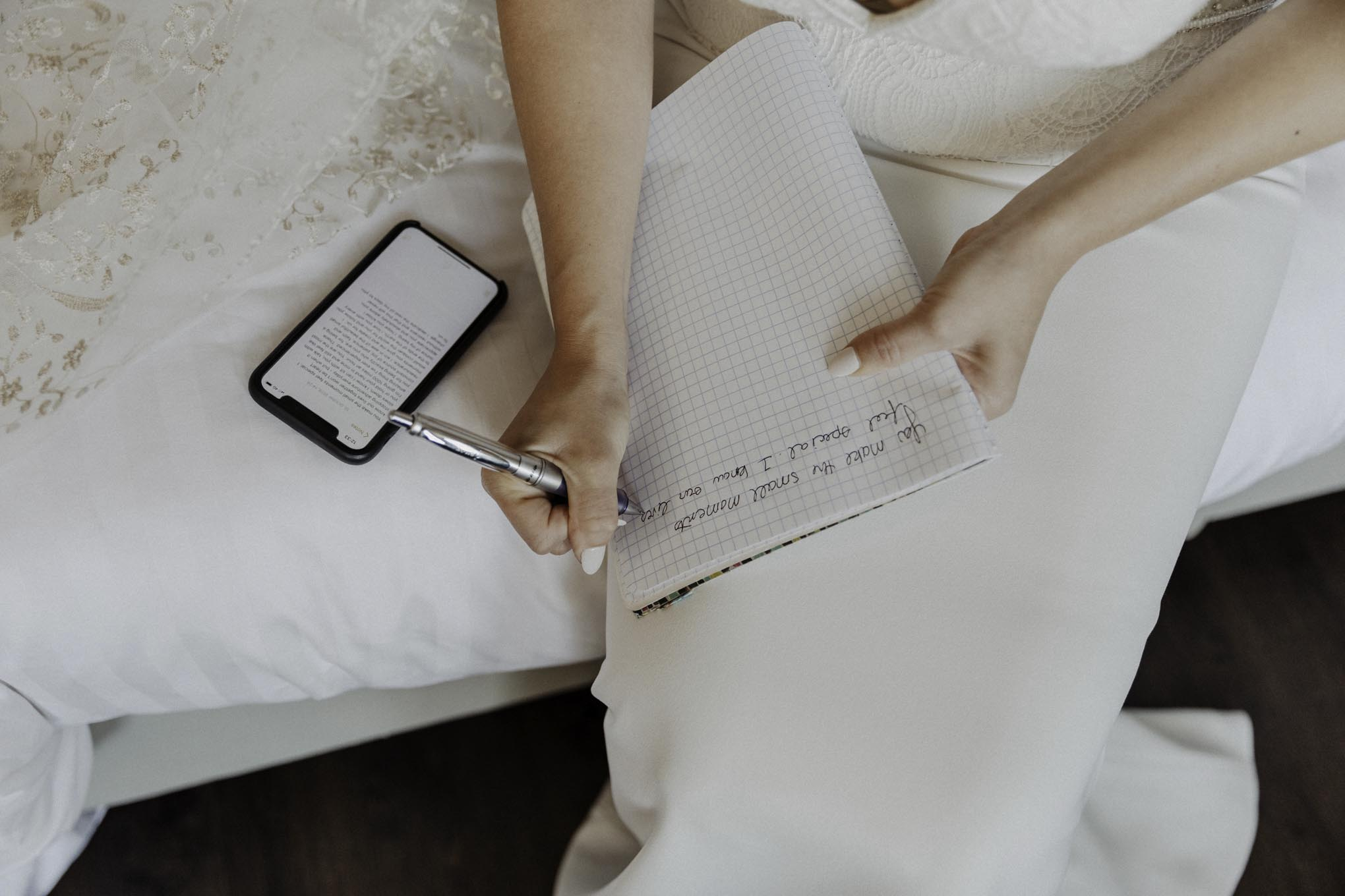 Getting Ready Ehegelöbnis schreiben