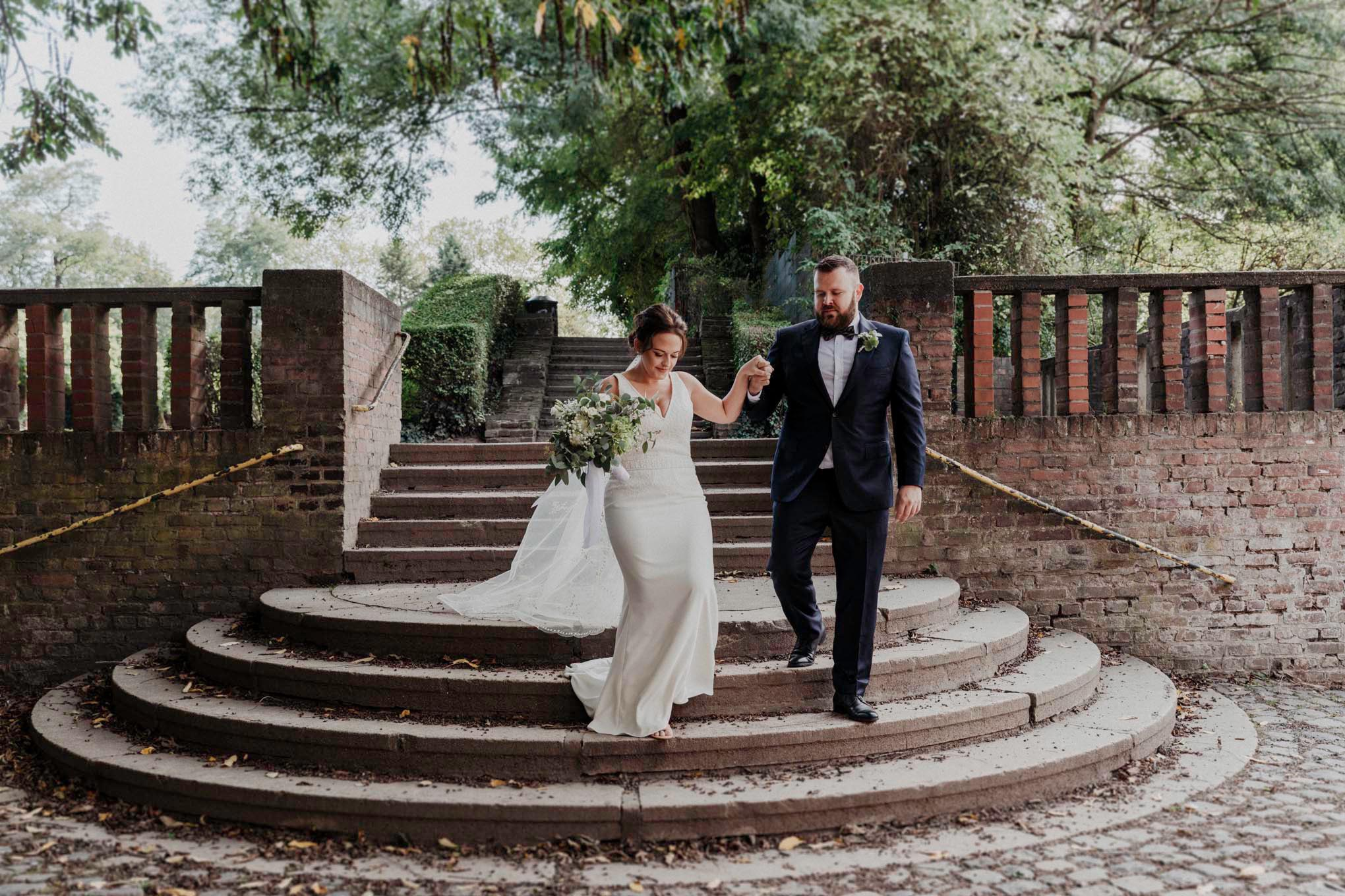 Hochzeitsfotos im Friedenspark Köln