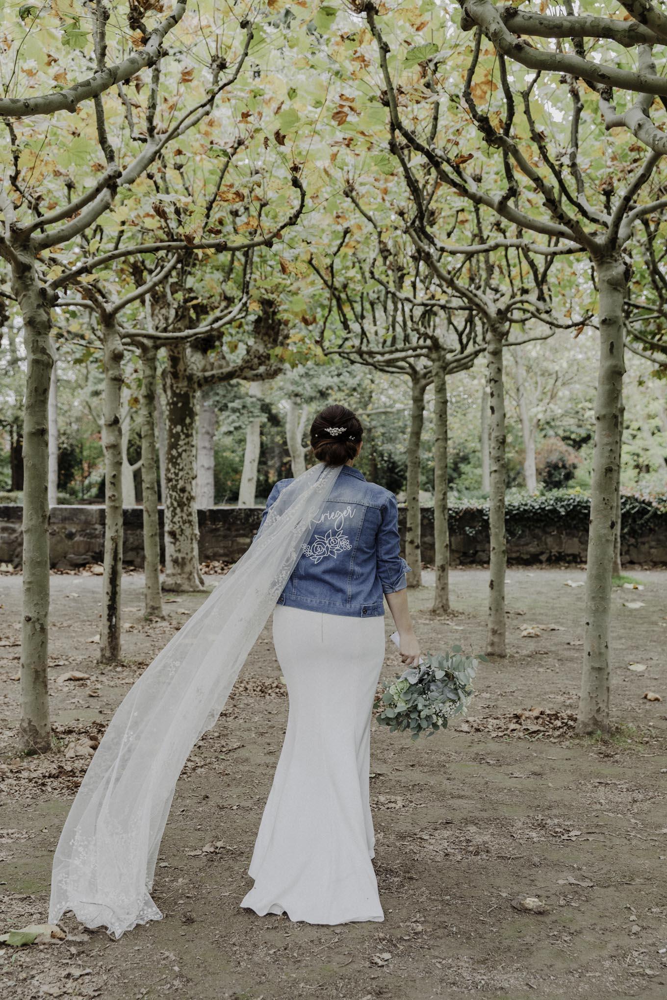 Jeansjacke für die Braut