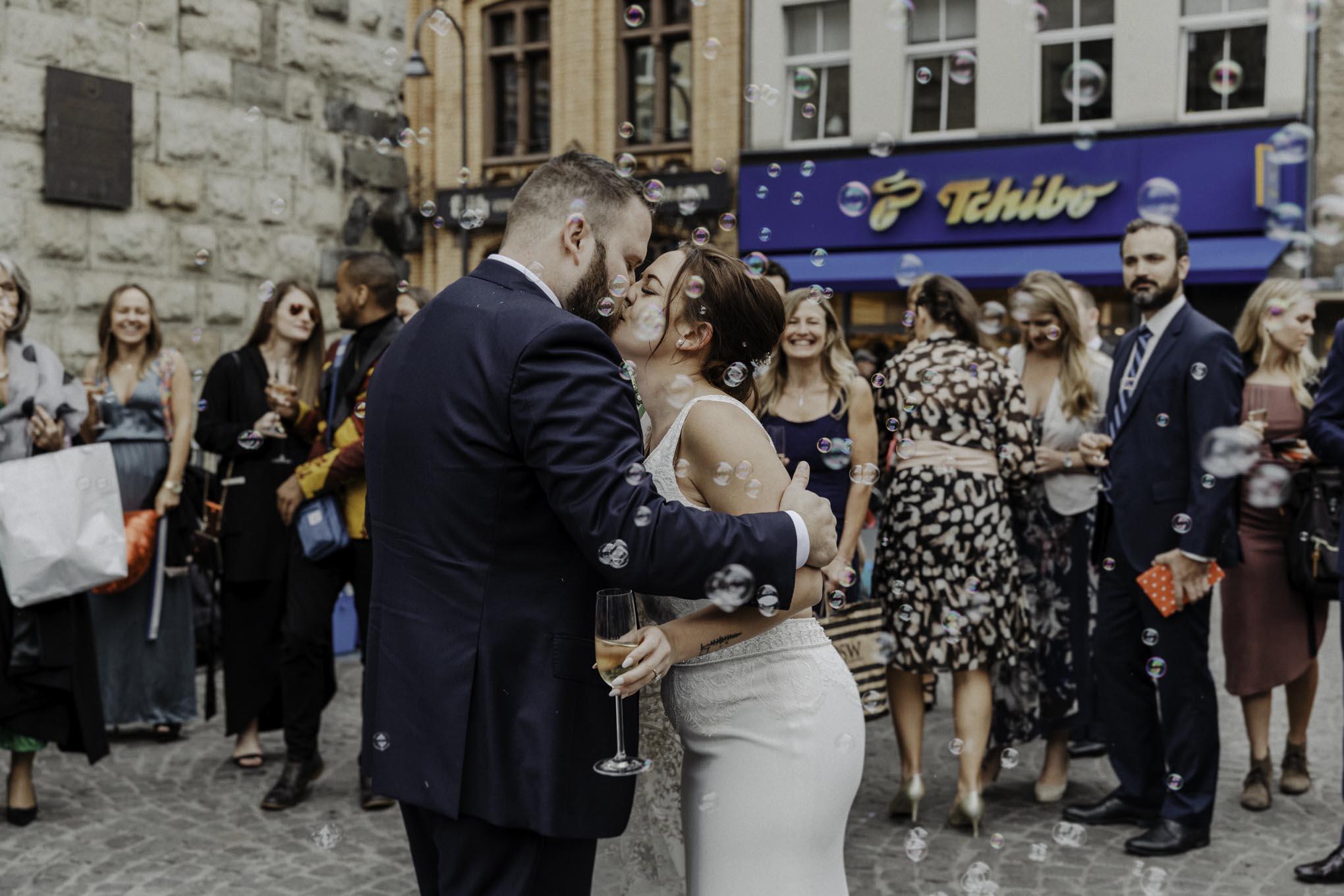 Hochzeit in der Severinstorburg