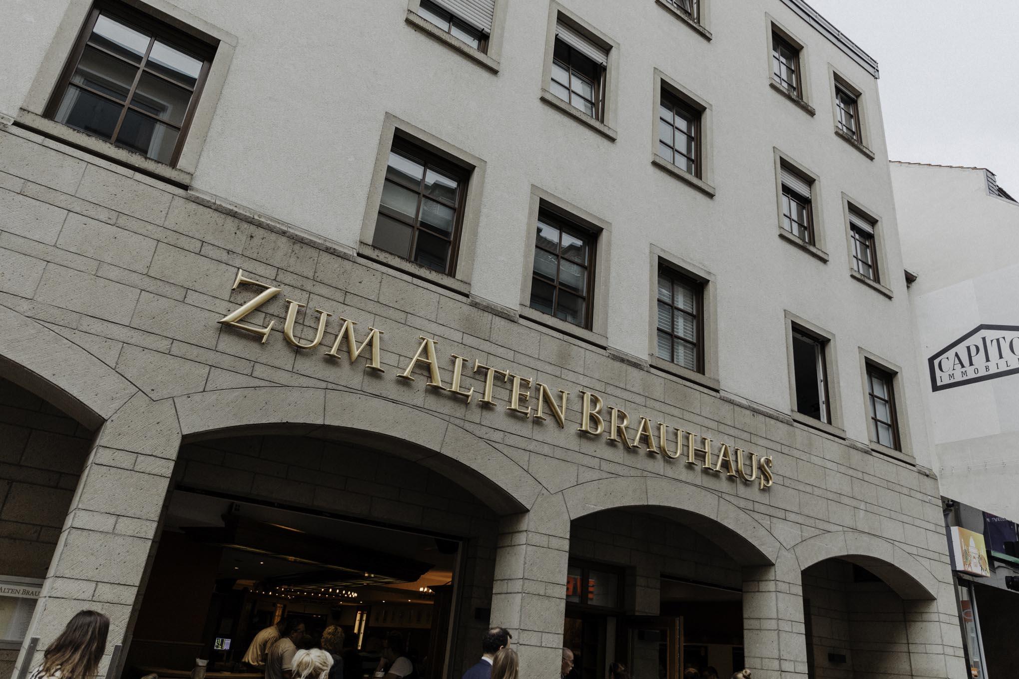 Heiraten im Zum Alten Brauhaus in Köln