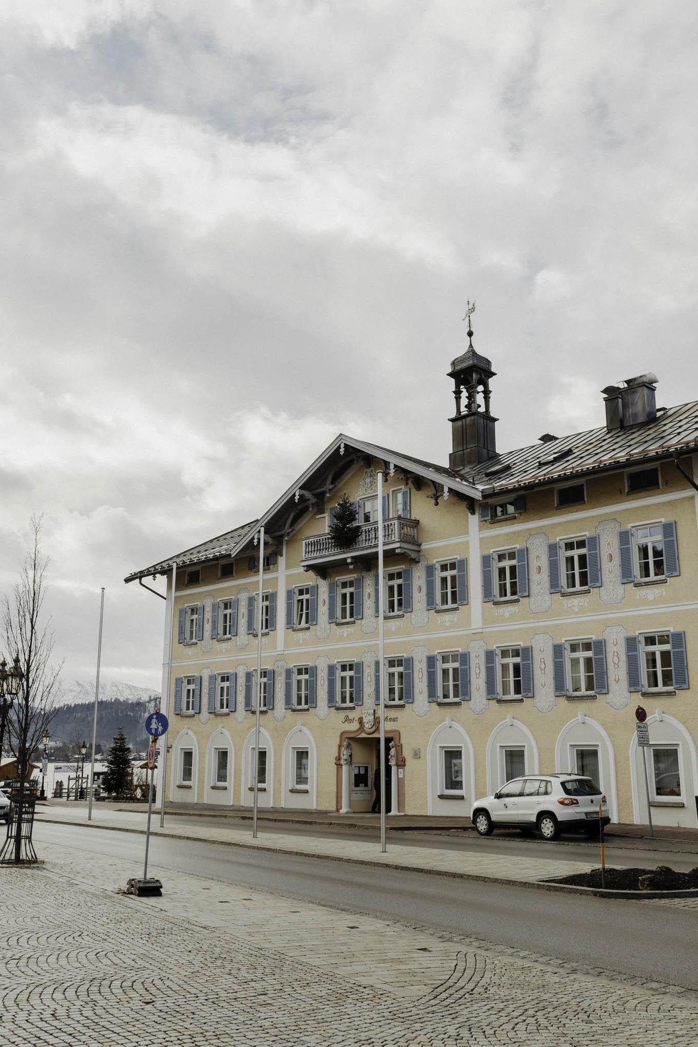 Standesamt am Tegernsee im Winter