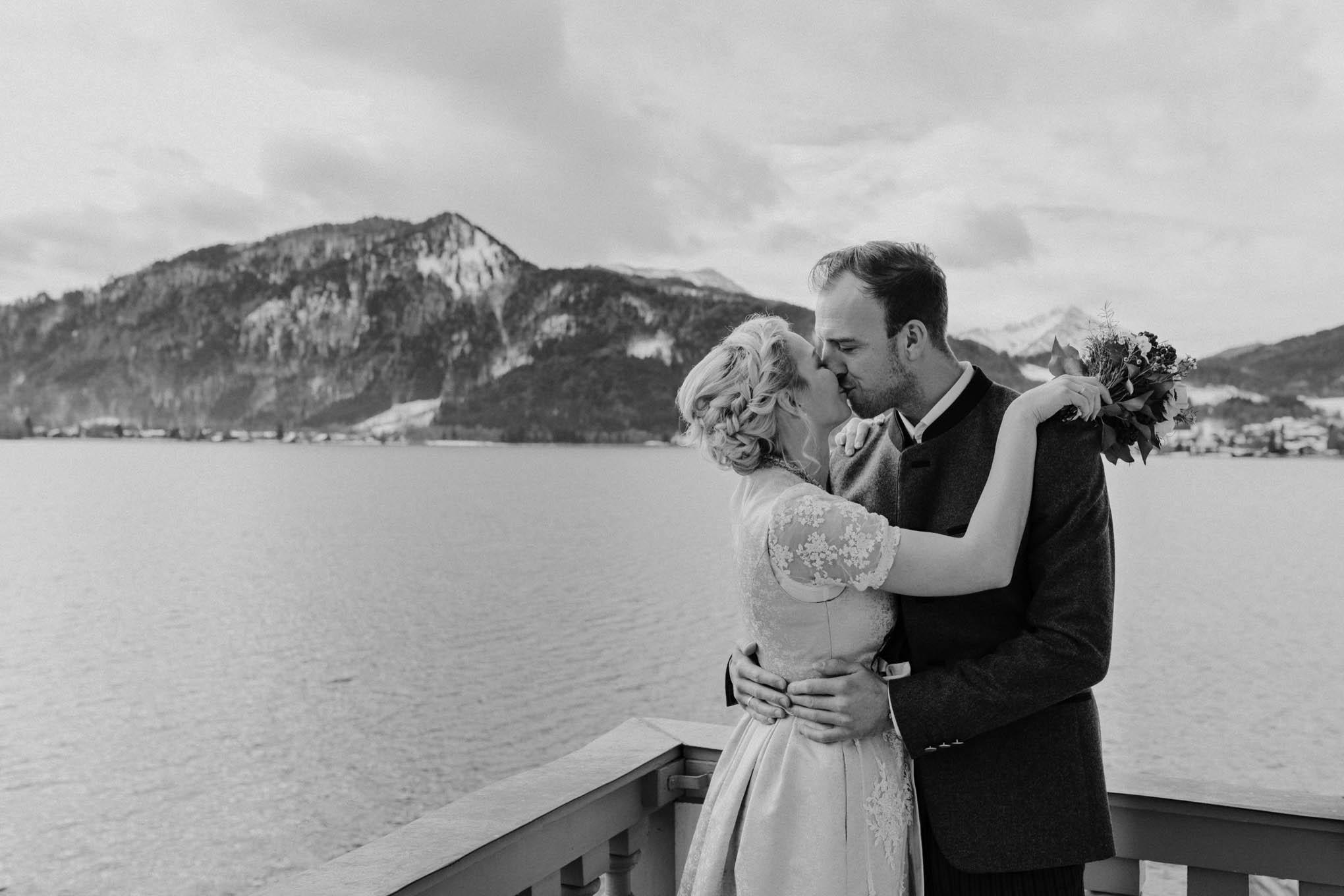Bayerische Hochzeit am Tegernsee