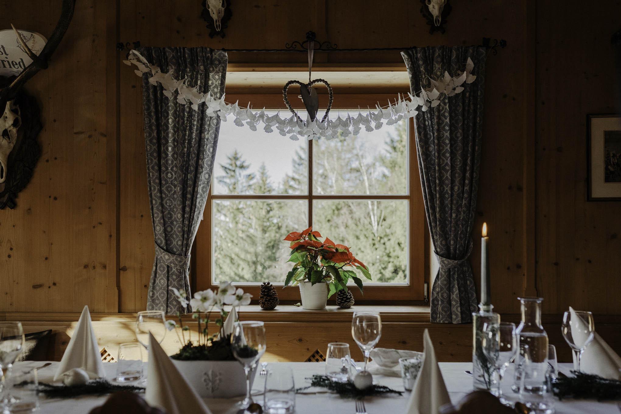 Bayerische Hochzeit am Tegernsee mit Ausblick