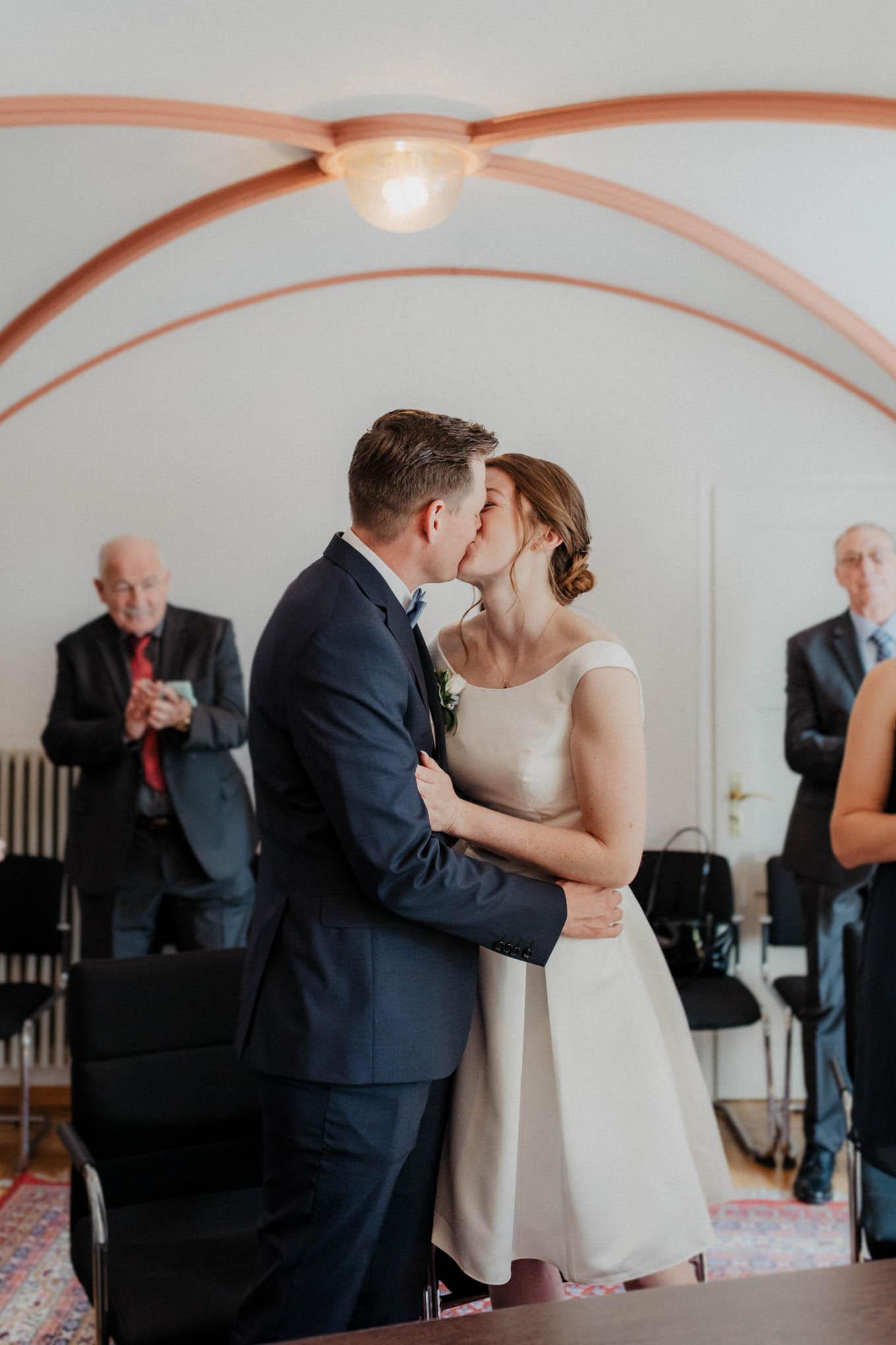 Brautpaar im Marktflecken in Mengerskirchen