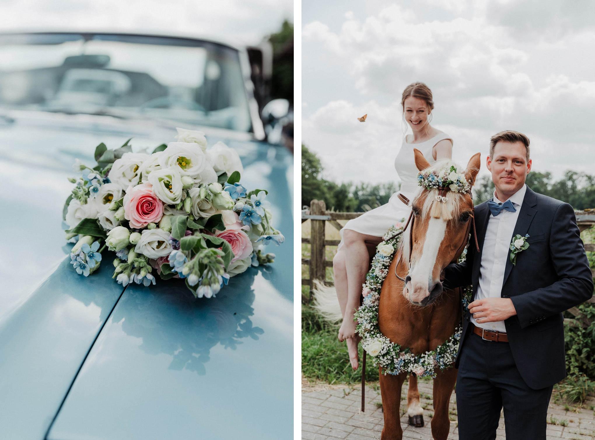 Vintage Hochzeit im Westerwald