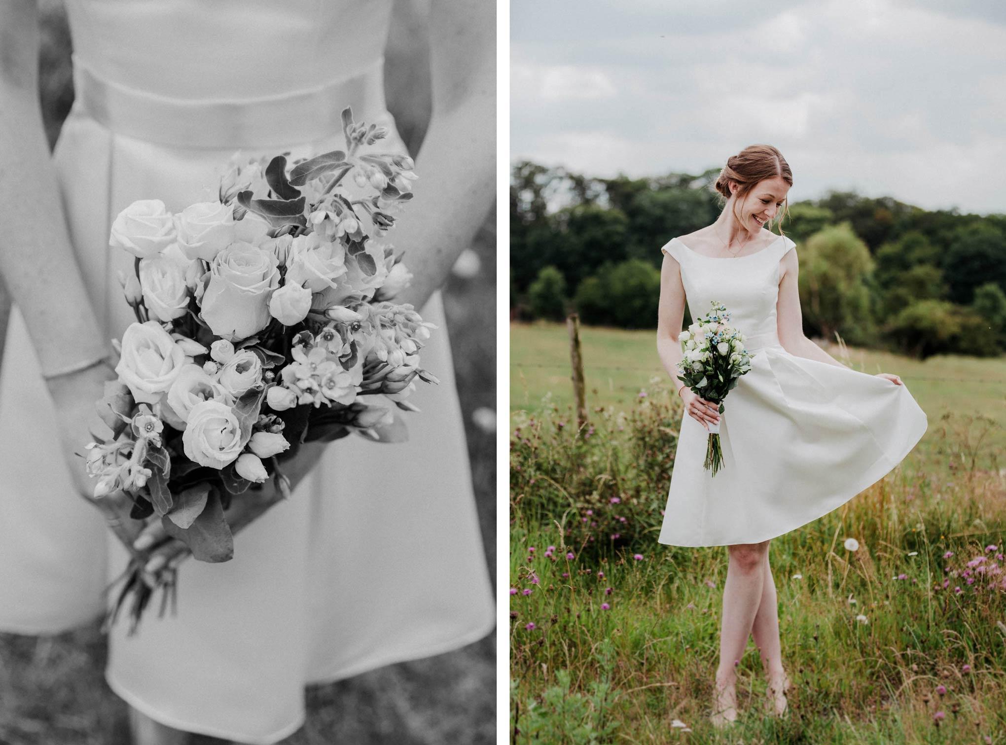vintage Braut im Westerwald