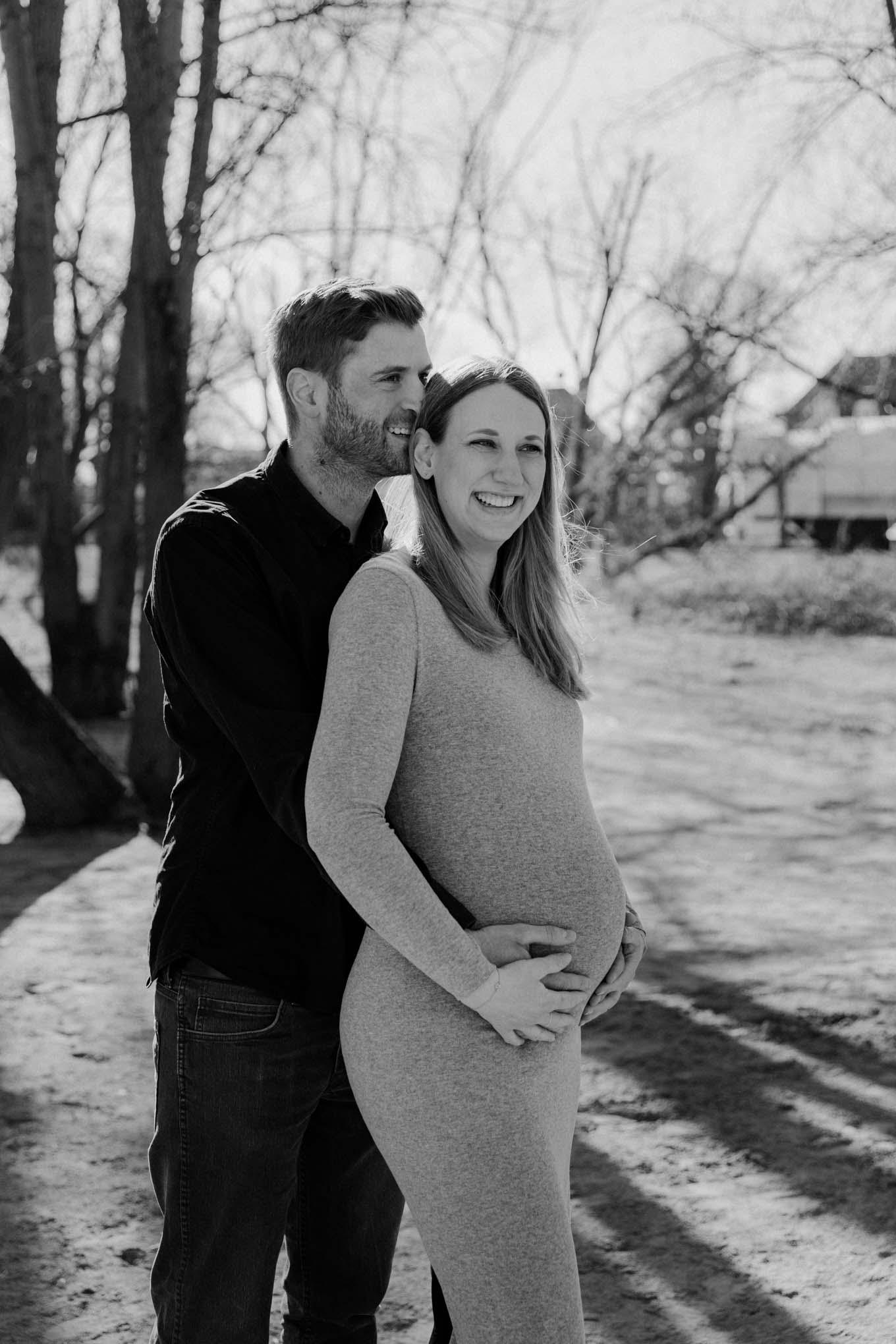 Schwangerschaftsfoto mit Partner in Köln