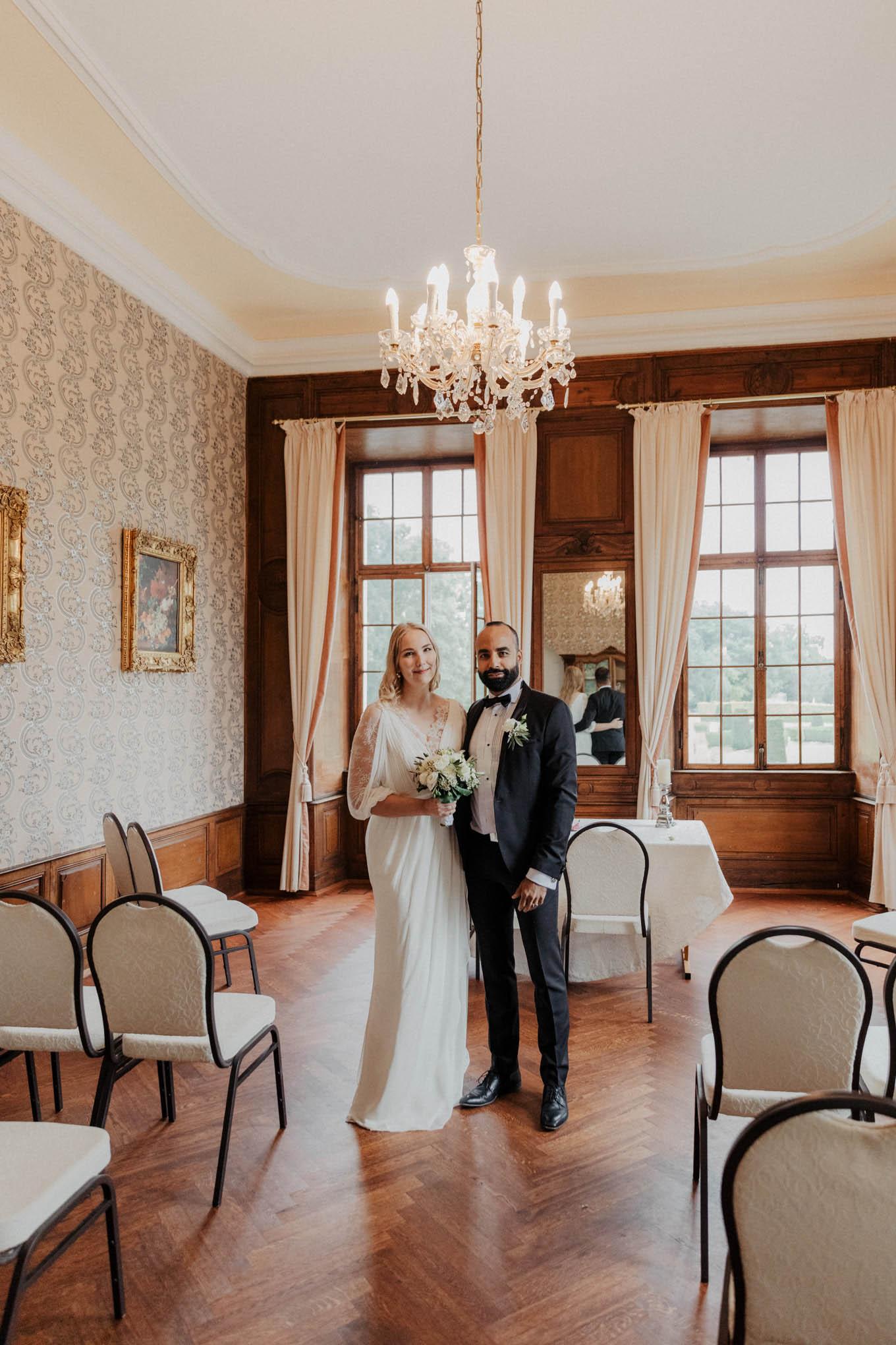 Hochzeit in Schloss Miel