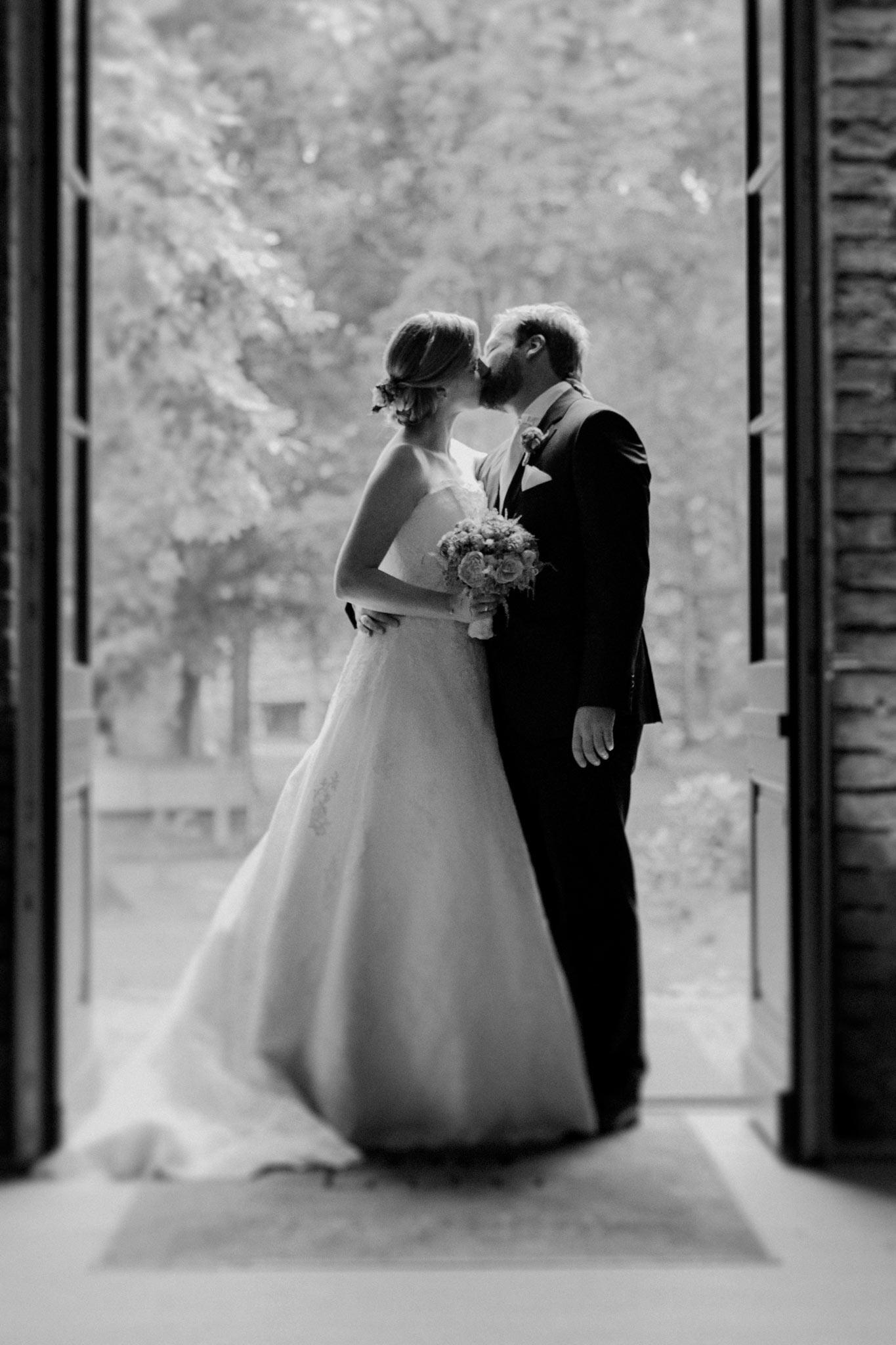 Brautpaar im Rittergut Orr